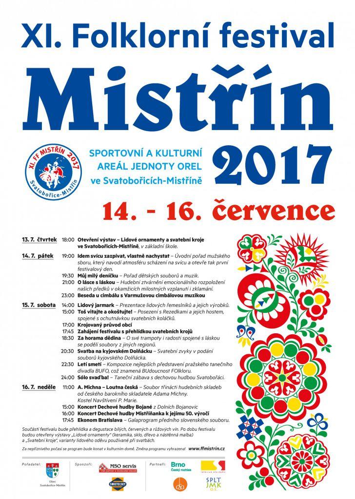 Folklorní festival Mistřín 1