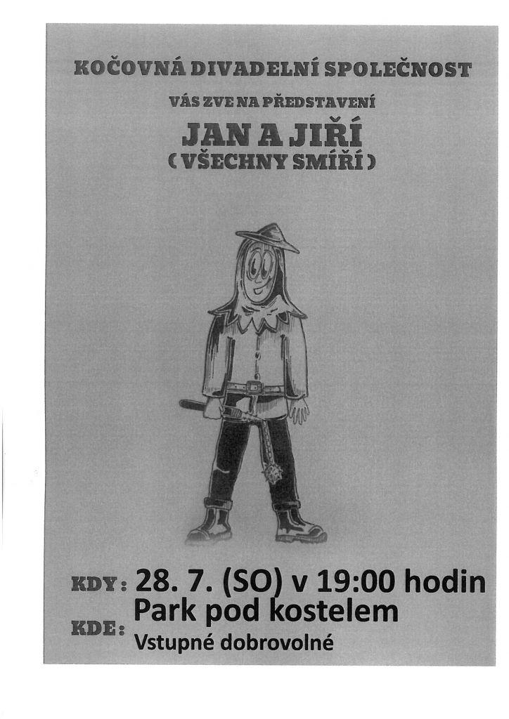 Divadlo, Jan a Jiří (všechny smíří) 1