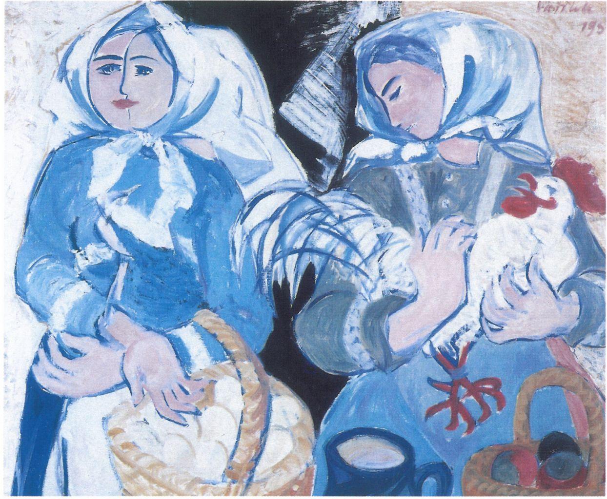 Vernisáž výstavy akademického malíře Vladimíra Vašíčka 1